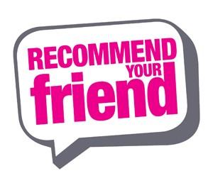 Recommend your friend en verdien € 250,-!